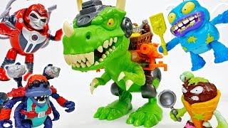 Download The Trash-O-Saur Chomps & Chew Grossery Gang~! - ToyMart TV Video