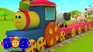 Download Bob The Train | Went To The Farm | Old MacDonald | Animal Sound Song by Bob The Train Video