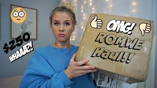 Download I SPENT $250 ON ROMWE! IS IT A SCAM?    Anna Cerinetti Video