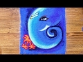 Download Quick,Easy freehand Ganpati Rangoli Design | Ganesh Rangoli Designs with colours by Shital Daga Video