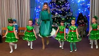 Download Танок ялинок на новий рік в дитячому садочку″Dance fir trees in a kindergarten″ Video