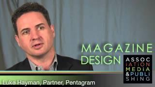 Download Interview with Pentagram's Luke Hayman on Great Magazine Design Video