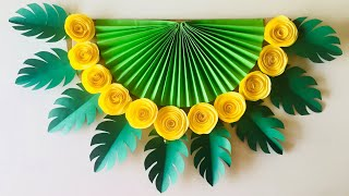 Download Wall Decoration Ideas | DIY Wall Hanging | Paper Wall Hanging Craft Ideas Video