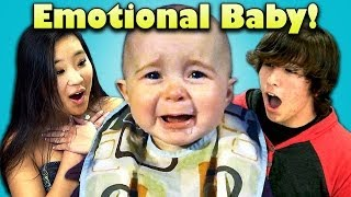 Download TEENS REACT TO CRYING BABY Video