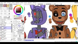 Download [SpeedPaint] Broken, old, forgotten (Five Nights at Freddy's 2) Video