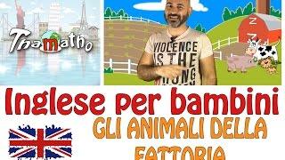 Download Inglese per bambini – Gli animali della fattoria – Farm animals Video