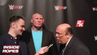 Download Brock Lesnar on Conor McGregor's recent comments on WWE Wrestlers Video