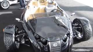 Download Campagna V13R 3 Wheeler powered by Harley-Davidson at LA Auto Show 2013 by KrekiLA Video