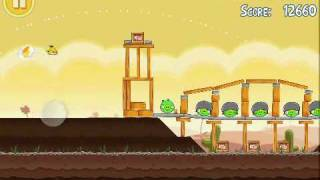 Download Angry Birds (Level 3-18) 3 Stars Video