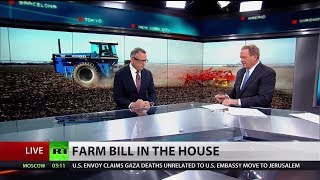 Download Farm bill falls short because of Republicans says union rep Video