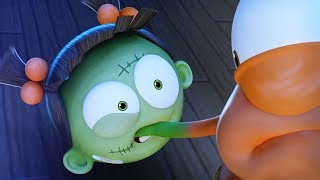 Download Funny Animated Cartoon | Spookiz What's The Time Mr Wolf Goes Wrong 스푸키즈 | Cartoons for Kids Video