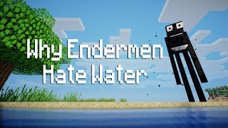 Download Why Endermen Hate Water - Minecraft Video
