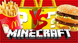 Download Minecraft: MCDONALD'S LUCKY BLOCK CHALLENGE | THE COOK OFF Video
