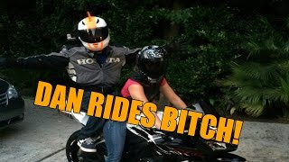 Download I Ride Bitch On My Girlfriends Motorcycle! + Going Through The Drive Thru! Video