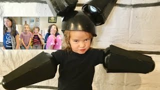 Download Kids Reactions to Costumes | 12 years of Themed Costumes Video