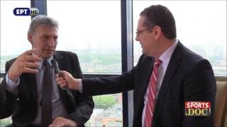 Download Συνέντευξη Παναγιώτη Φασούλα στην εκπομπή ''Sports Doc'' της ΕΡΤ. Video