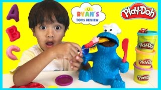 Download PLAY DOH COOKIE MONSTER LETTER LUNCH Cookie Monster Video