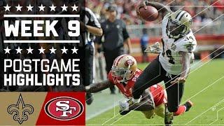 Download Saints vs. 49ers (Week 9)   Game Highlights   NFL Video