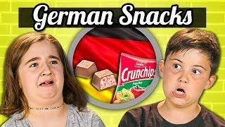 Download KIDS EAT GERMAN SNACKS   Kids Vs. Food Video