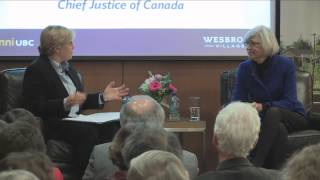 Download Wesbrook Talks – The Right Honourable Beverley McLachlin, P.C. Video