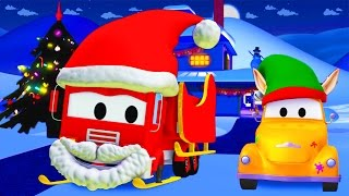 Download Tom The Tow Truck's Paint Shop : Frank is Santa Claus | CHRISTMAS SPECIAL Truck cartoons for kids Video