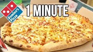 Download Domino's Medium Pizza in 1 Minute Challenge (vs MATT STONIE vs L.A. BEAST) Video