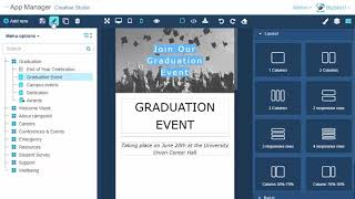 Download campusM Creative Studio: How to Edit Page Details Video