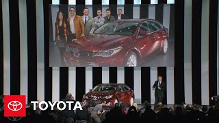 Download Toyota Reveals 2013 Avalon at the 2012 New York Auto Show | Toyota Video