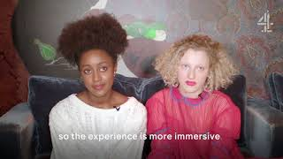 Download KISS ME FIRST - INTERVIEW WITH SIMONA BROWN & TALLULAH HADDON Video