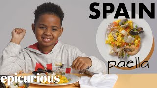 Download Kids Try Rice Dishes From Around The World | Bon Appétit Video