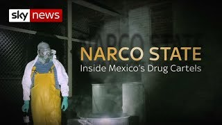Download Inside Mexico's Drug Labs | Narco State | Sky News Video