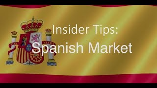 Download Insider Tips Spanish Market | Barbara Wood from the Tourism Ireland Madrid Office Video