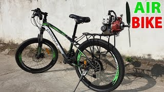 Download Build a Air Bike at home - v2 - Using 2-Stroke 33cc Engine - Tutorial Video