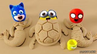 Download Superhero Baby Spiderman & superhero babies sand playtime Play Doh Cartoons Stop Motion Animations Video
