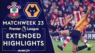Download Southampton v. Wolves | PREMIER LEAGUE HIGHLIGHTS | 1/18/2020 | NBC Sports Video