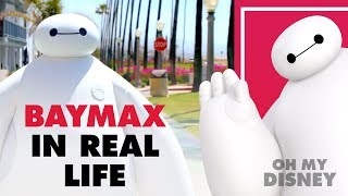 Download Disney's Baymax from Big Hero 6 In Real Life | Oh My Disney IRL Video