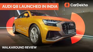 Download Audi Q8 Launched In India | Walkaround in Hindi | CarDekho Video