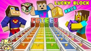 Download FGTEEV Minecraft Lucky Block Race #1: We Are Such Cheaters & Mom's a Noob (Mod Mini-Game) Video