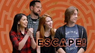 Download Critical Role Escapes the Evil Sorcerer's Lair (Escape! w/ Janet Varney) Video