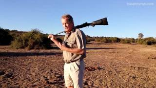 Download Walking Safari around Ngoma Safari Lodge in Botswana Video