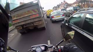 Download Motorcycle Filtering (Lane Splitting) compilation 2 Video