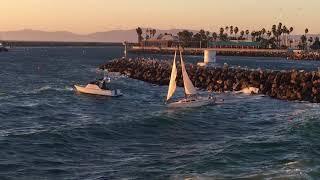 Download Dramatic Redondo Beach Harbor Rescue Video