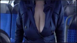 Download braless by train - frivolous dress order Video