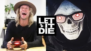 Download Playing LET IT DIE (PS4) - Jukka is Uncle Death! Video