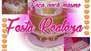 Download Faça você mesmo sua festa   Festa Realeza gastando pouco - Gabi Alves Video