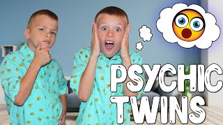 Download Mind Reading Psychic Twins - Twin Telepathy Challenge!! Video