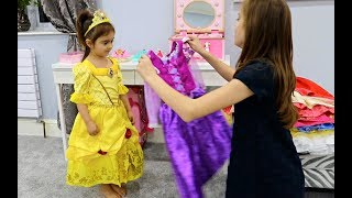 Download Emily Became a Princess-Real Princess Dresses Video