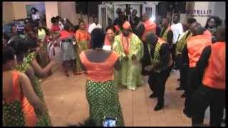 Download Traditional Liberian Wedding Dance at a Wedding Reception~ James and Lucy kudee Video