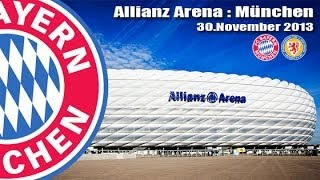 Download ALLIANZ ARENA - München - Fussball Elite Stadion - FC Bayern München [30.November 2013] Video