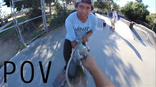 Download First Time at the Skatepark - POV Video